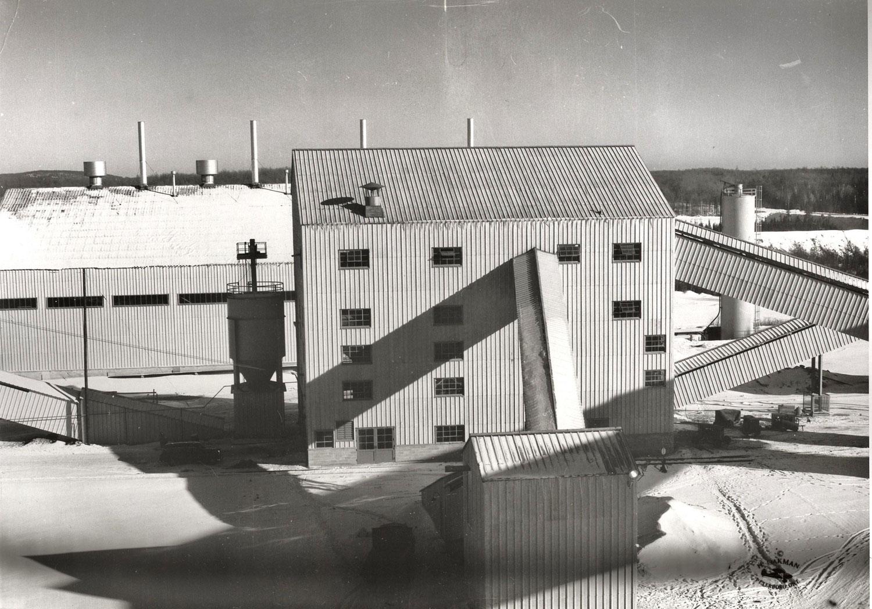 1955 Secondary crushing plant Marmoraton Mine