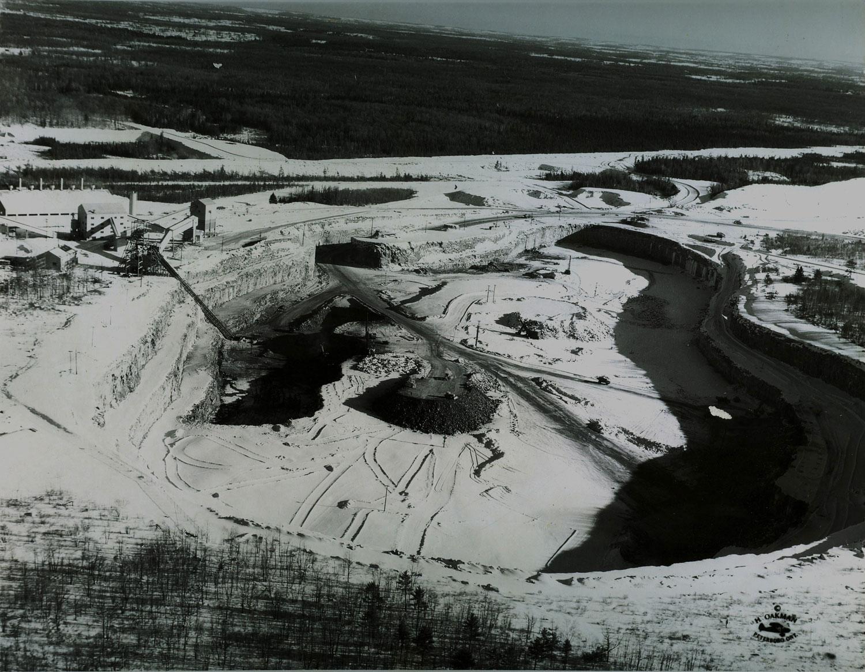1955, Jan.    Marmoraton Mining Co. looking SE