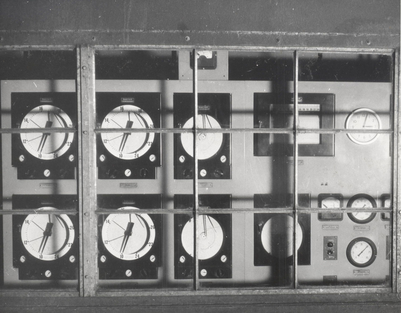 1956 Marmoraton  Mine instrument room for furnace controls 001