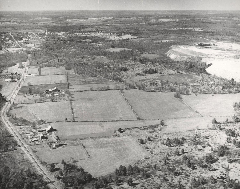 1957 Marmoraton Mine looking north