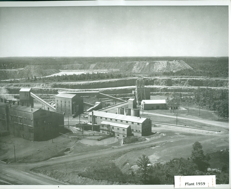 1959  Marmora Mine  Plant
