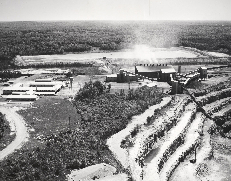 1959 Plant and Tailing Dam Marmoraton Mine