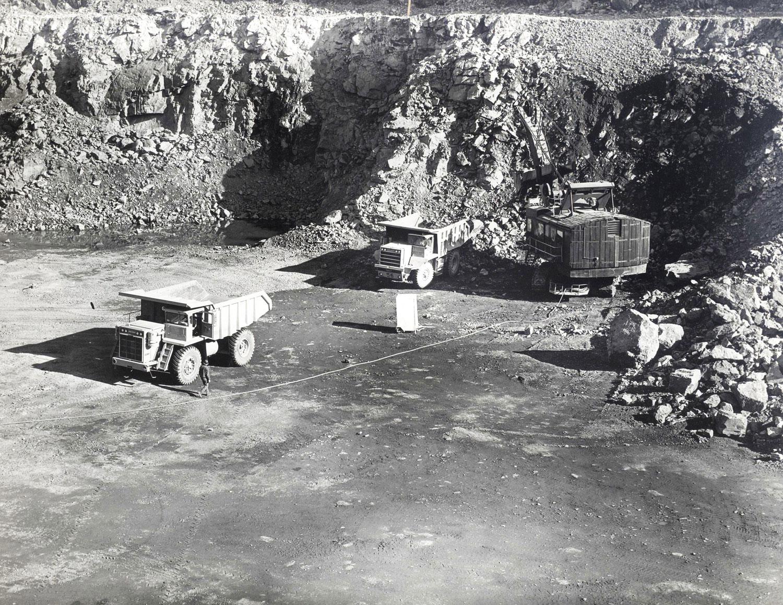 1965   55 Ton Dart Marmoraton Mine