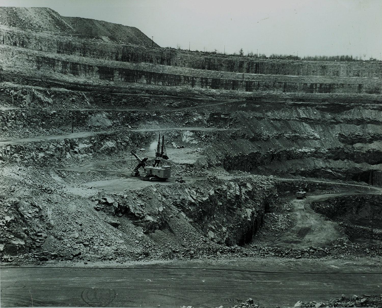 1968 Marmoraton Mining Co.  Electric Shovel,