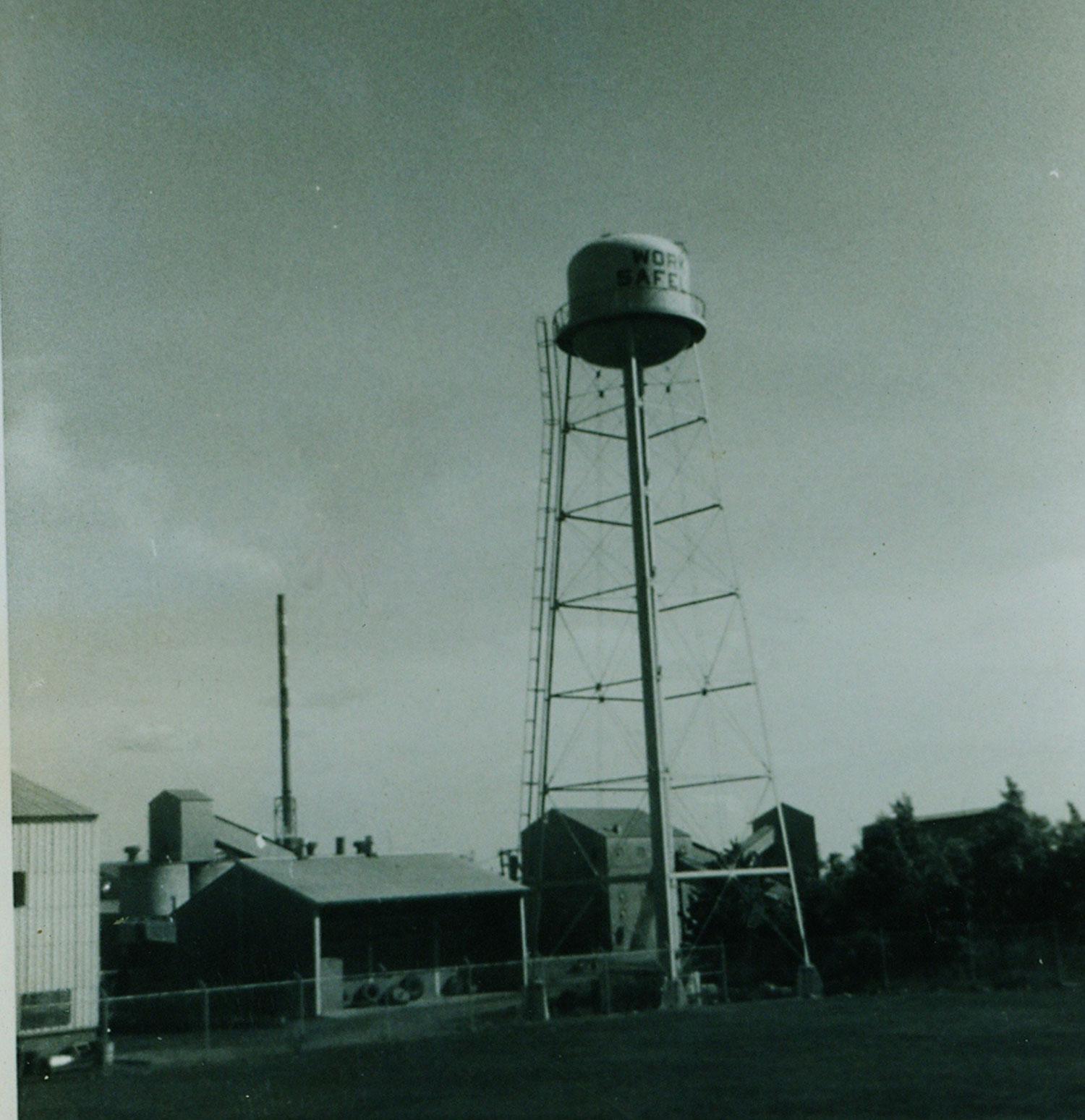 1974 Bethlehem Steel Marmoraton Mine Water Tower