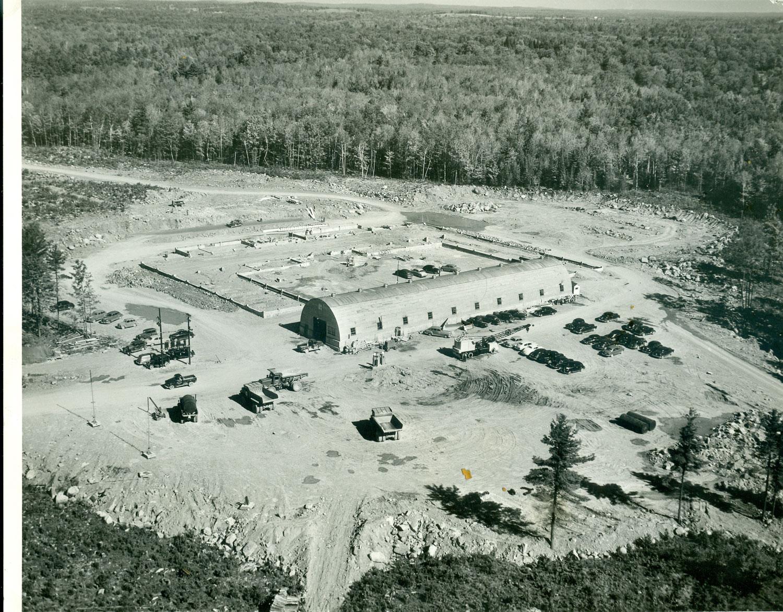 Marmoraton Mine #1 Quanset hut-  Office & shops