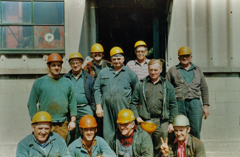 Marmoraton Mine workers