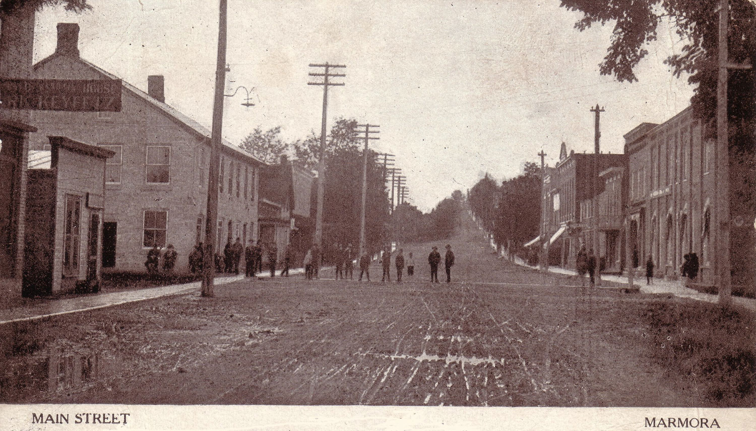 Forsyth St. & #7 Highway - 1907 looking north