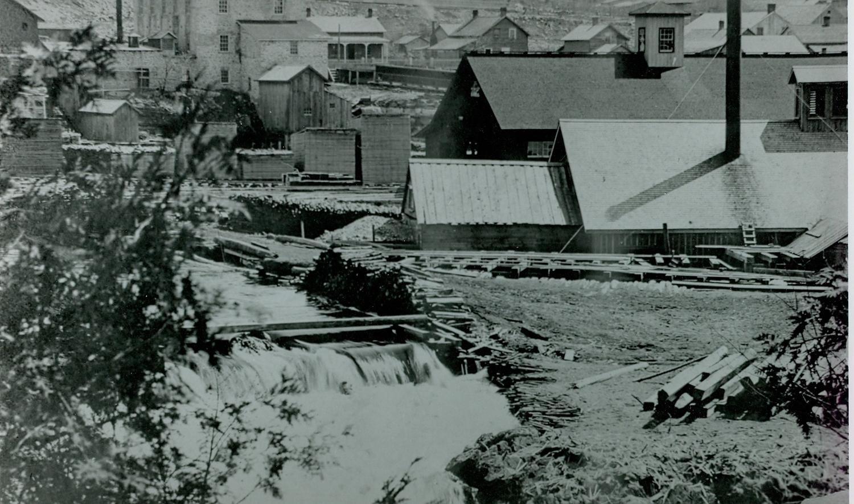 Pearce Lumber Mill at Marmora Dam