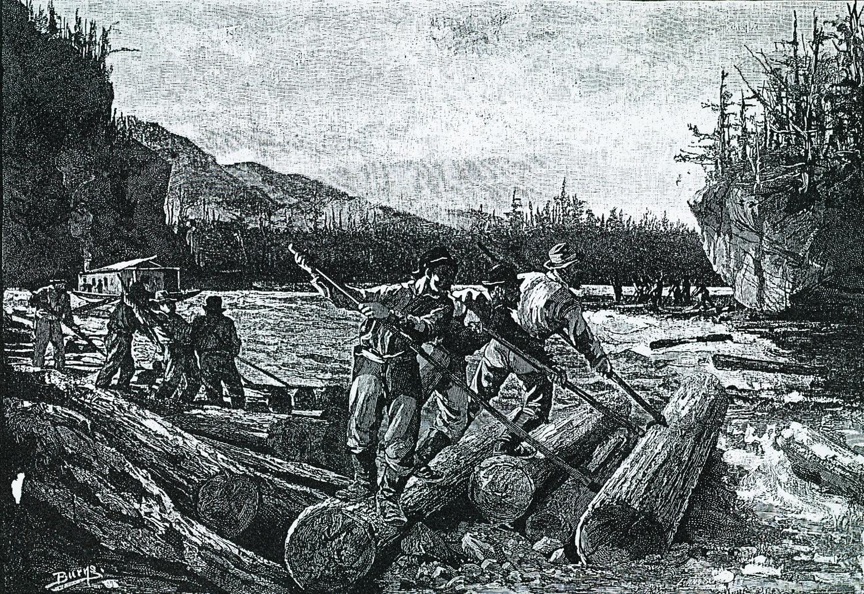 Lumbering - The Drive