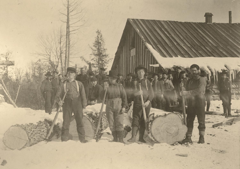 Lumber Camp & Sawmill