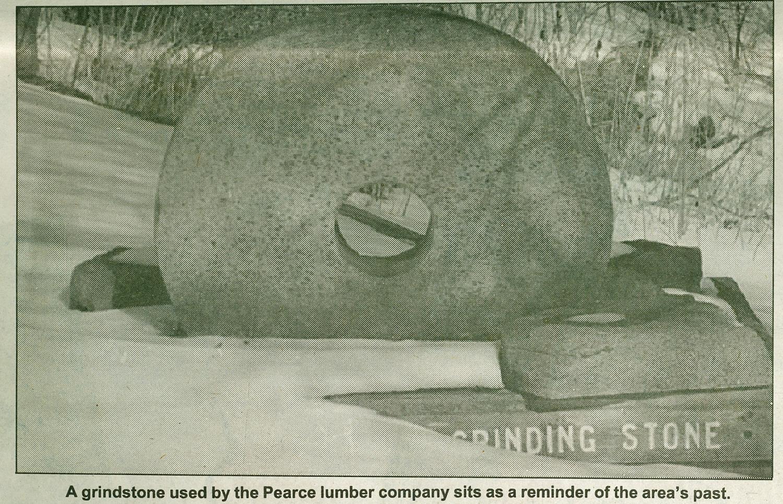 Pearce Mills Grinding Stone