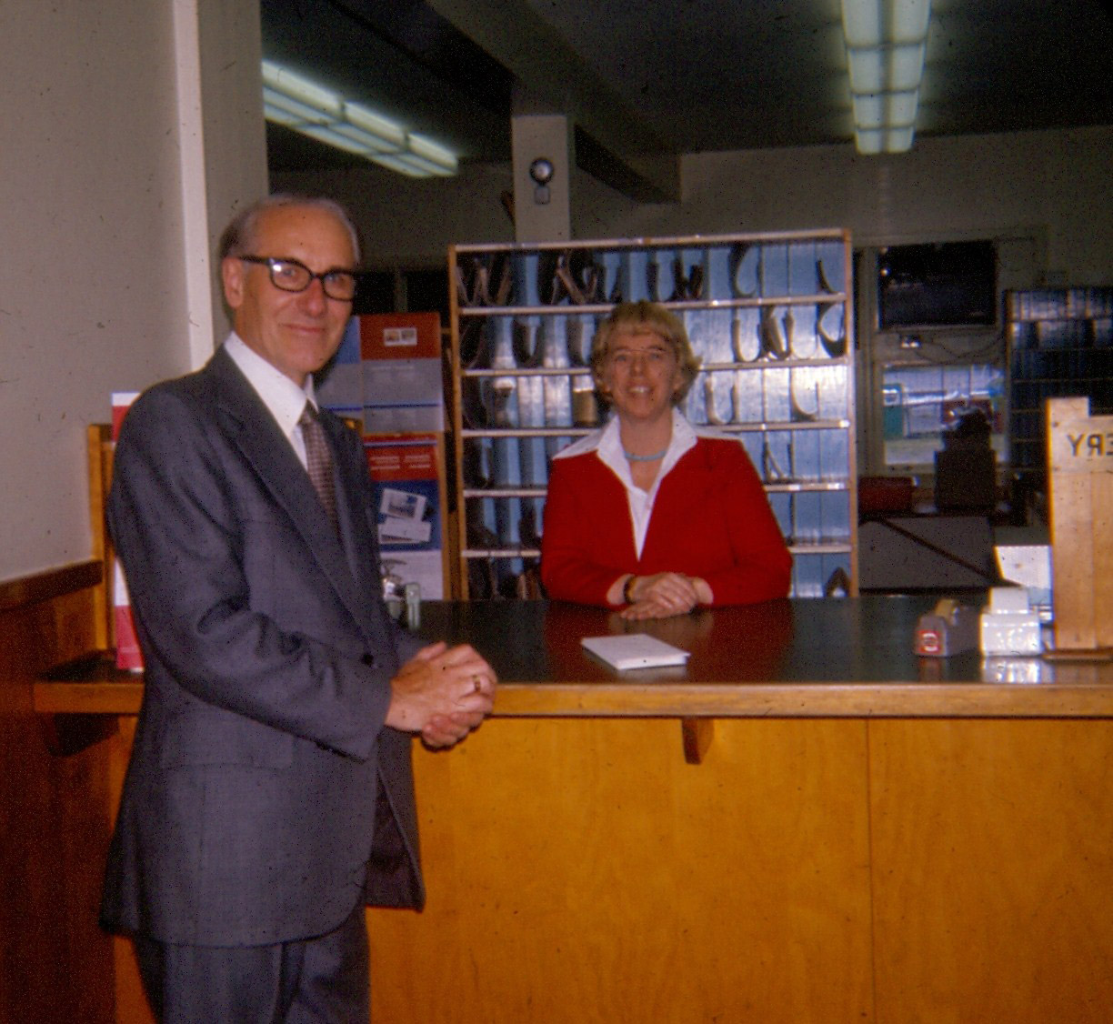 1977 Post Office with Phillys Hickey