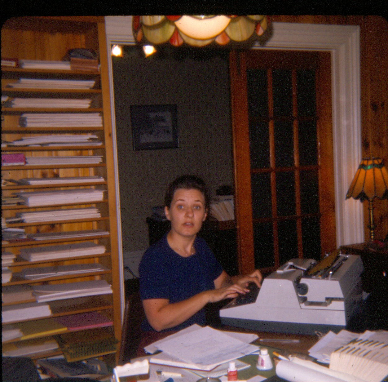 1976 Betty Nobes at the Law Office