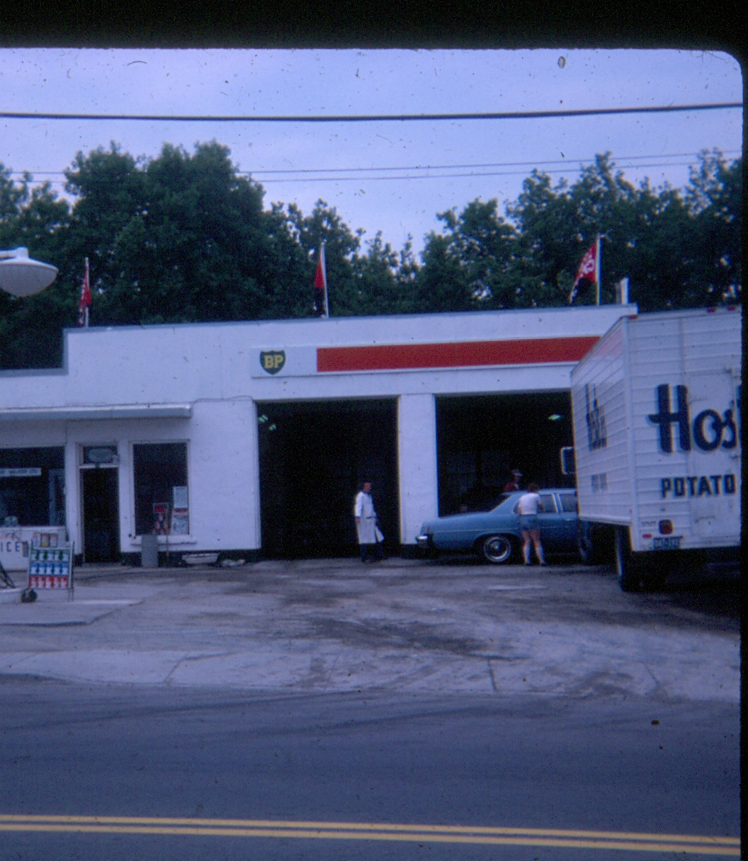 1977 Ron Whiteman Esso station
