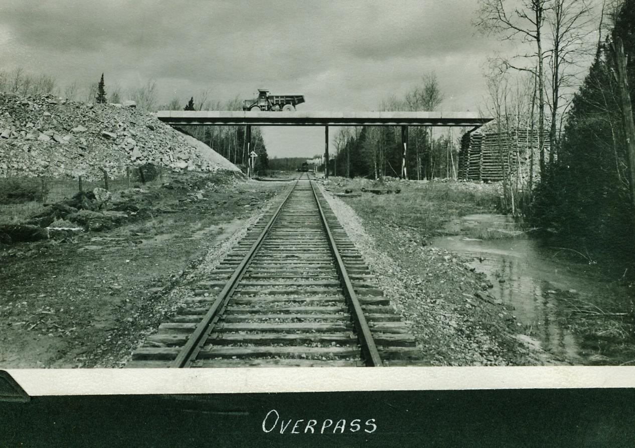Marmoraton Mine,  Marmora,  Bethlehem Steel Overpass