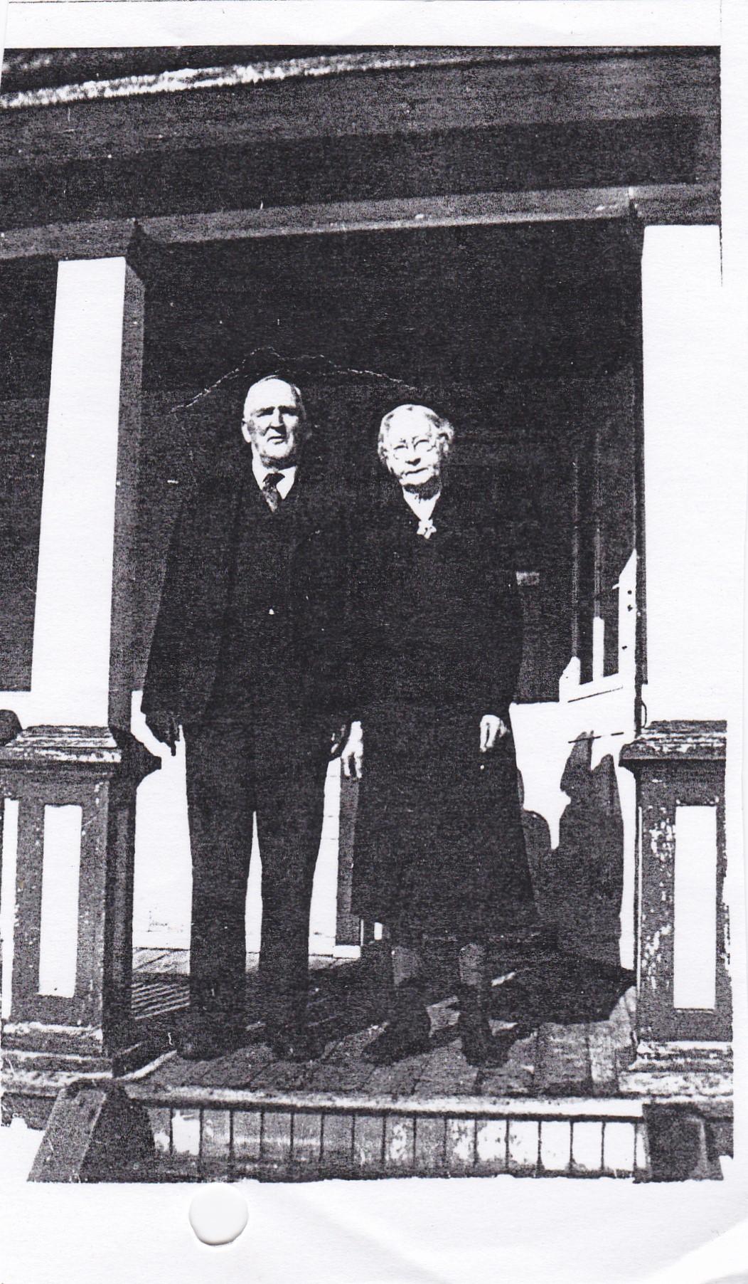 John O'Neill and Annie McGrath