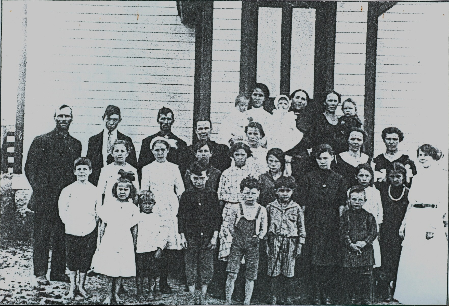 School Section #10 Shanick Public School 1914-1915
