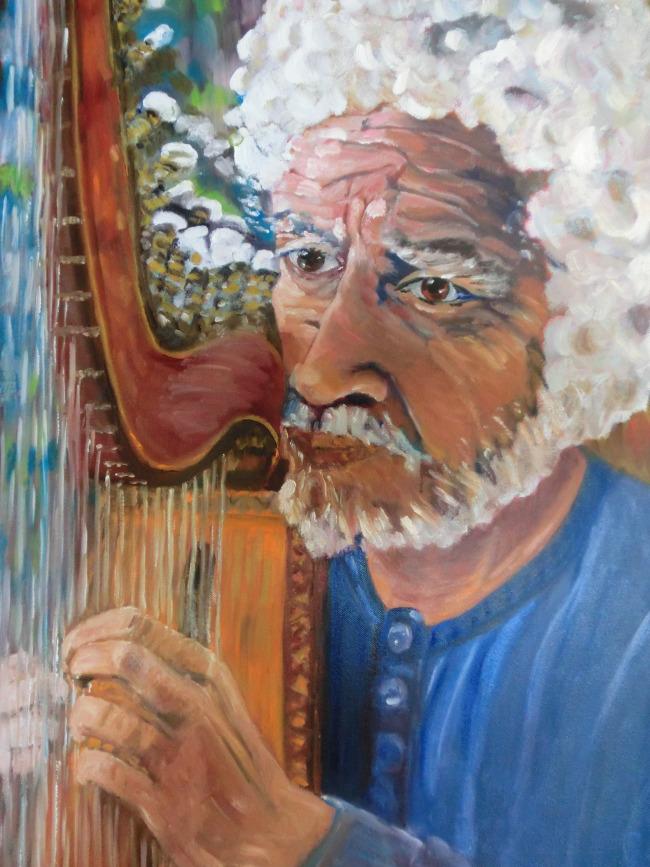 Quebec Harpist