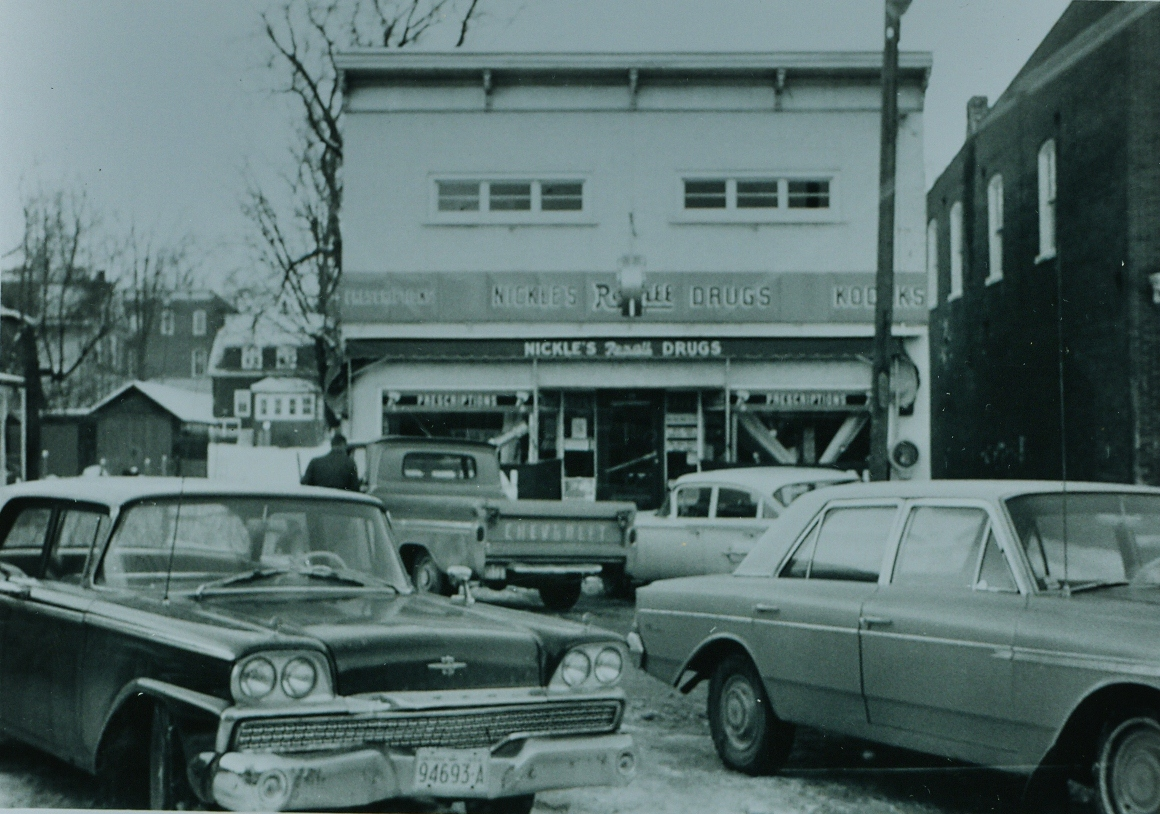 Nickle's Drug Store 1966