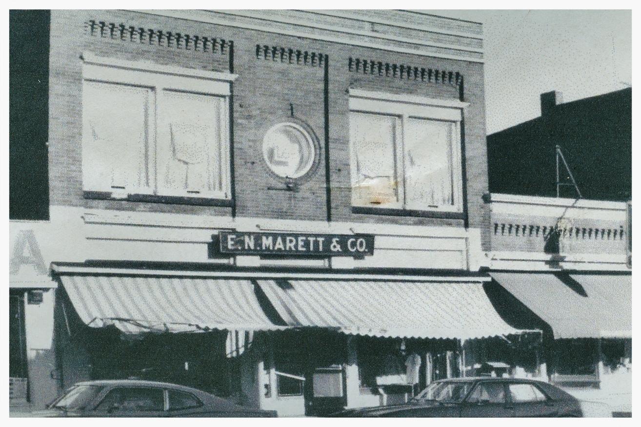 14 Forsyth Street - The Hubbell/Marett block