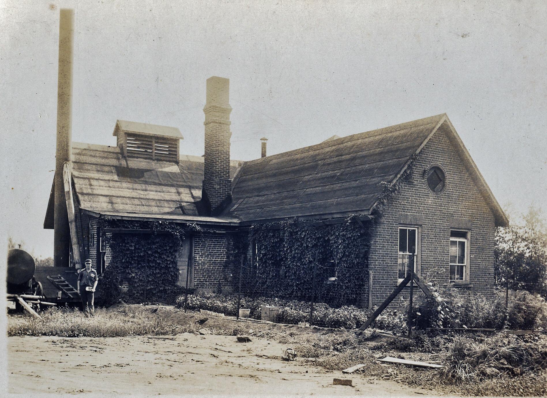 Deloro Mine site - remains of old lab