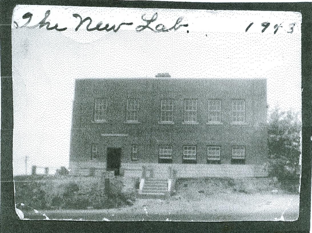New Lab, Deloro Mine,  built by Sullivan Gang, 1943.jpg