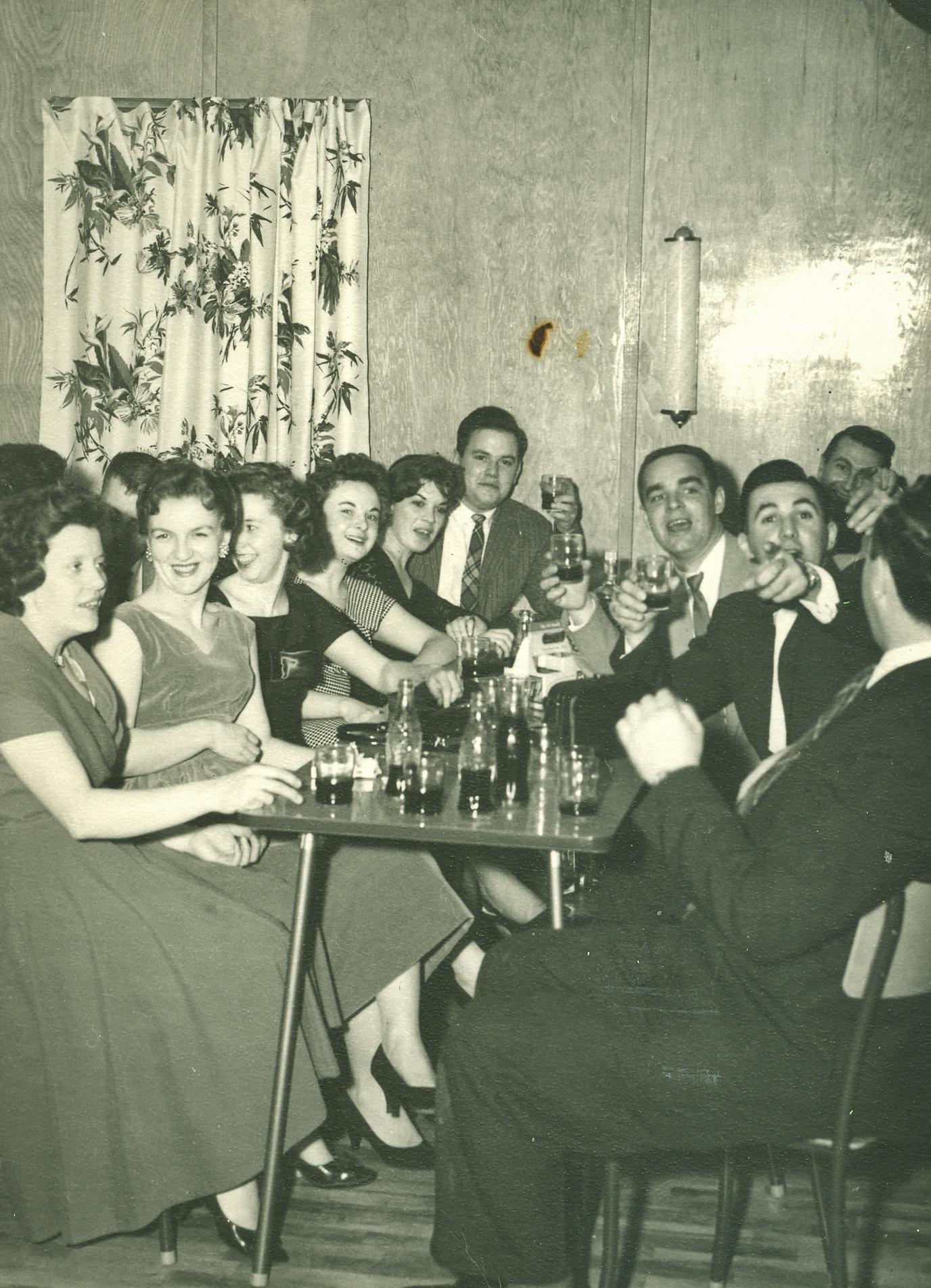 Bethlehem Steel Party, Helen & Fred Stewart, Keitha & Tom Paranuik, Marilyn & Buck Mantle