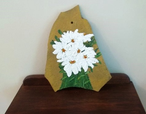 Daisies on Rock