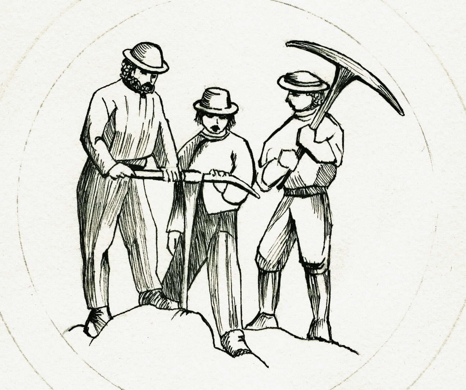 Marmora Historical Foundation Susanna Moodie Sketch 2.jpg