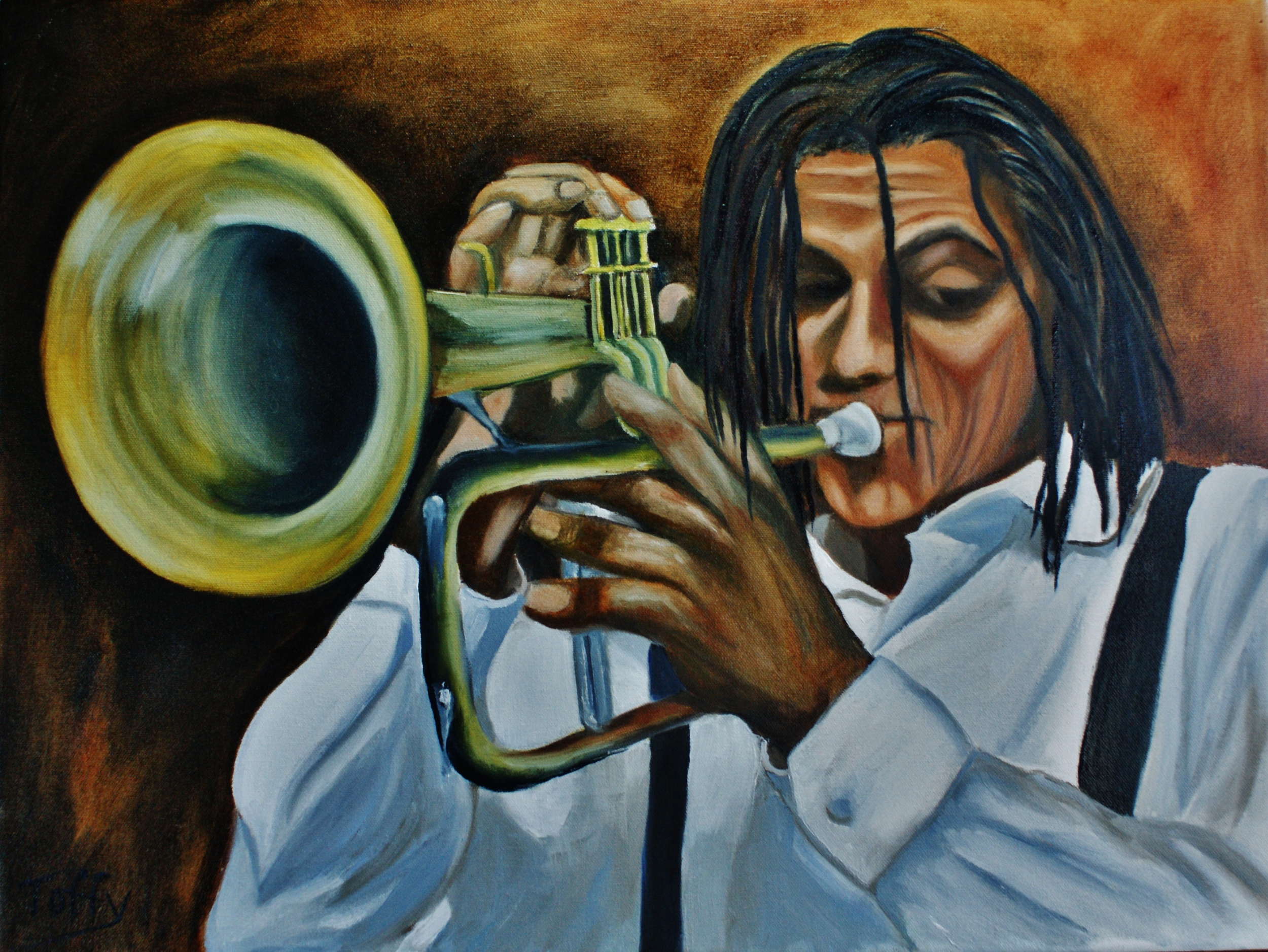 #127 Angel the Trumpeter