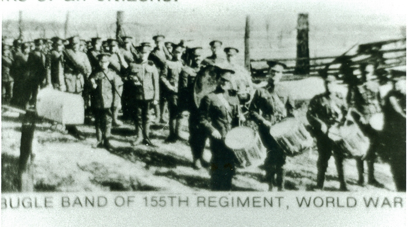 """The 155th Battalion, which was authorized on 22 December 1915 as the '155th """"Overseas"""" Battalion, embarked for Great Britain on 17 October 1916. It provided reinforcements to the Canadian Corps in the field until 8 December 1916, when its personnel were absorbed by the '154th """"Overseas"""" Battalion, The battalion was disbanded on 17 July 1917. (Dept. of National Defence)"""