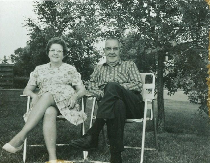 1967 Harry & Beatrice Loveless, 50th wed. anniversary
