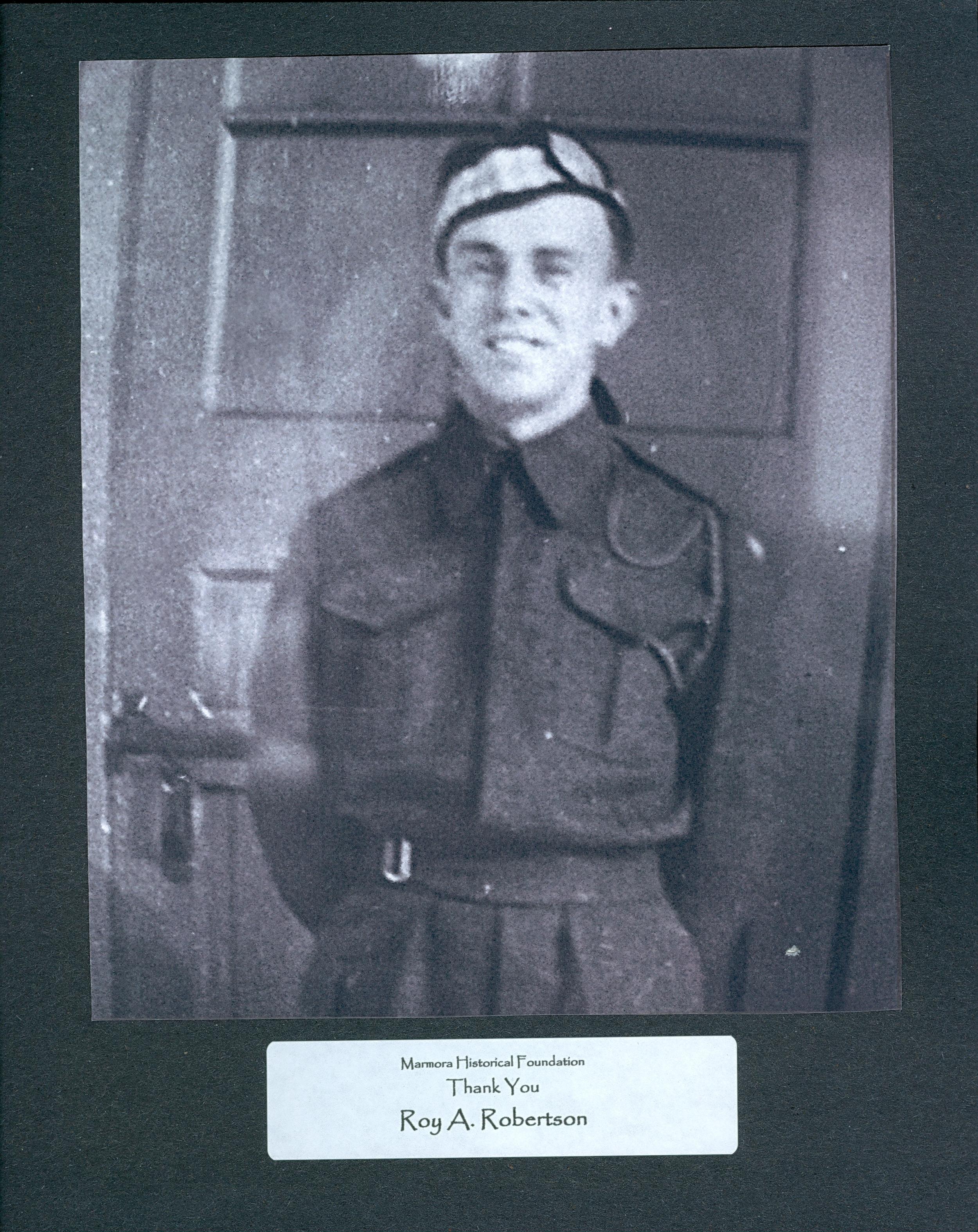 Wartime - Veterans -  Roy A. Robertson.jpg