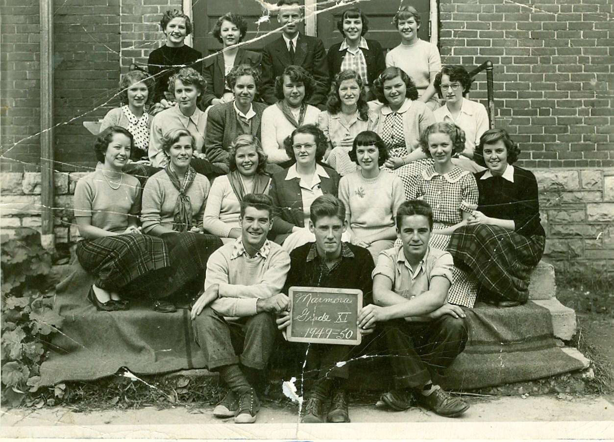 1949-50 Marmora Public School  Grade 11