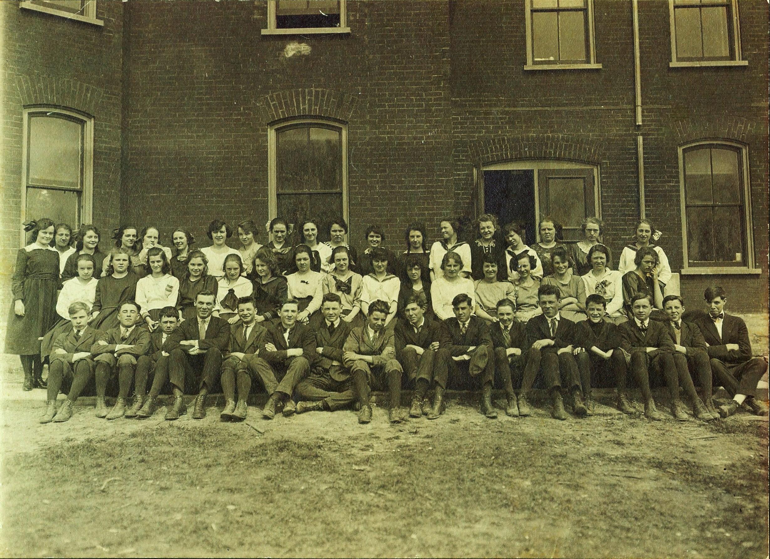 Marmora Continuation School, 1920