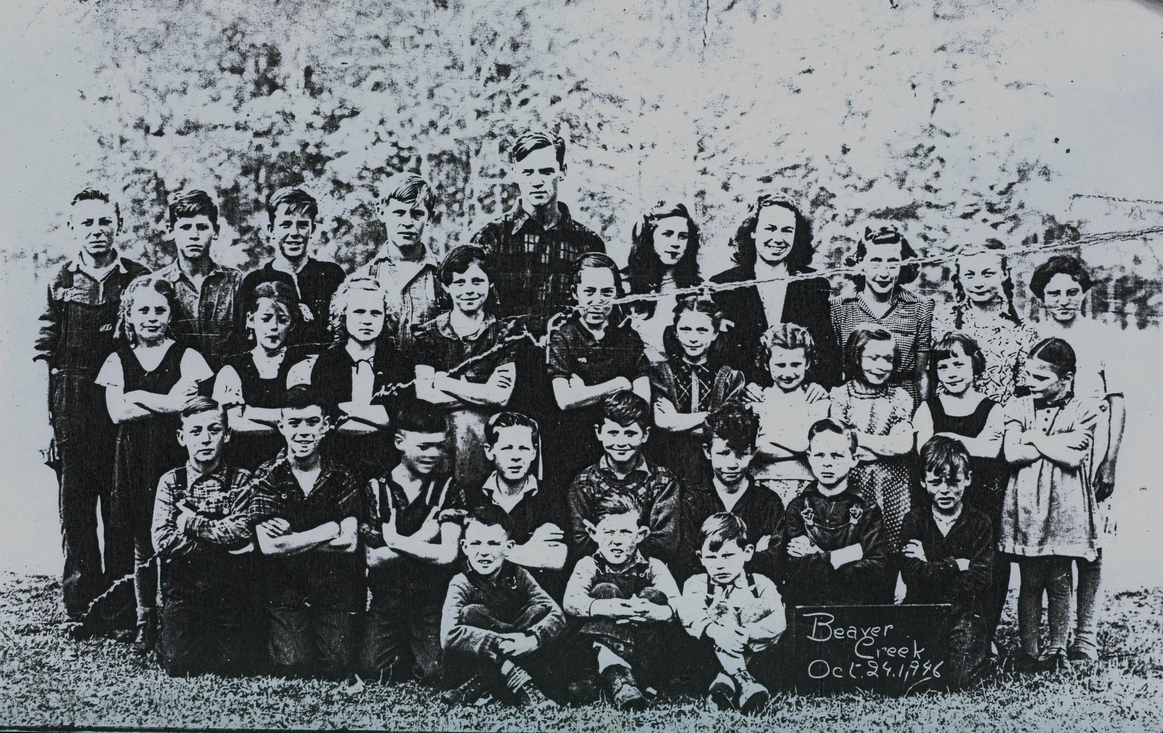 School Section #5,  Beaver Creek public School 1946-1947.jpg