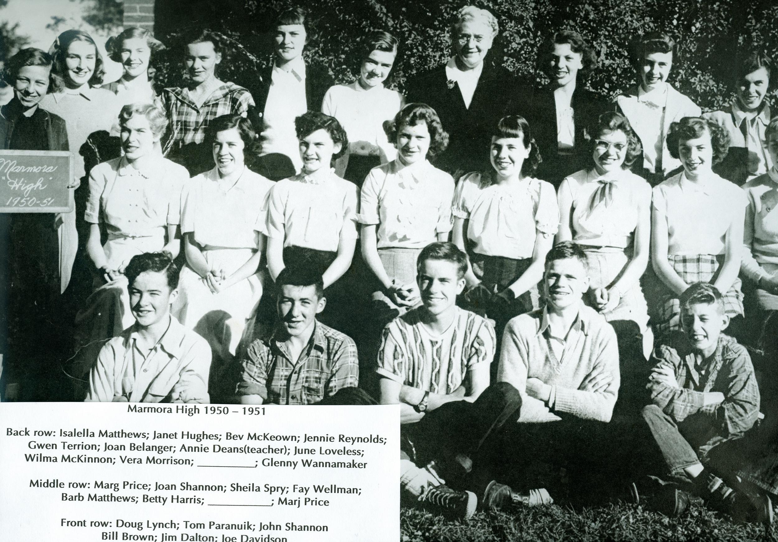 1950-1951 Marmora High School  (left side).jpg