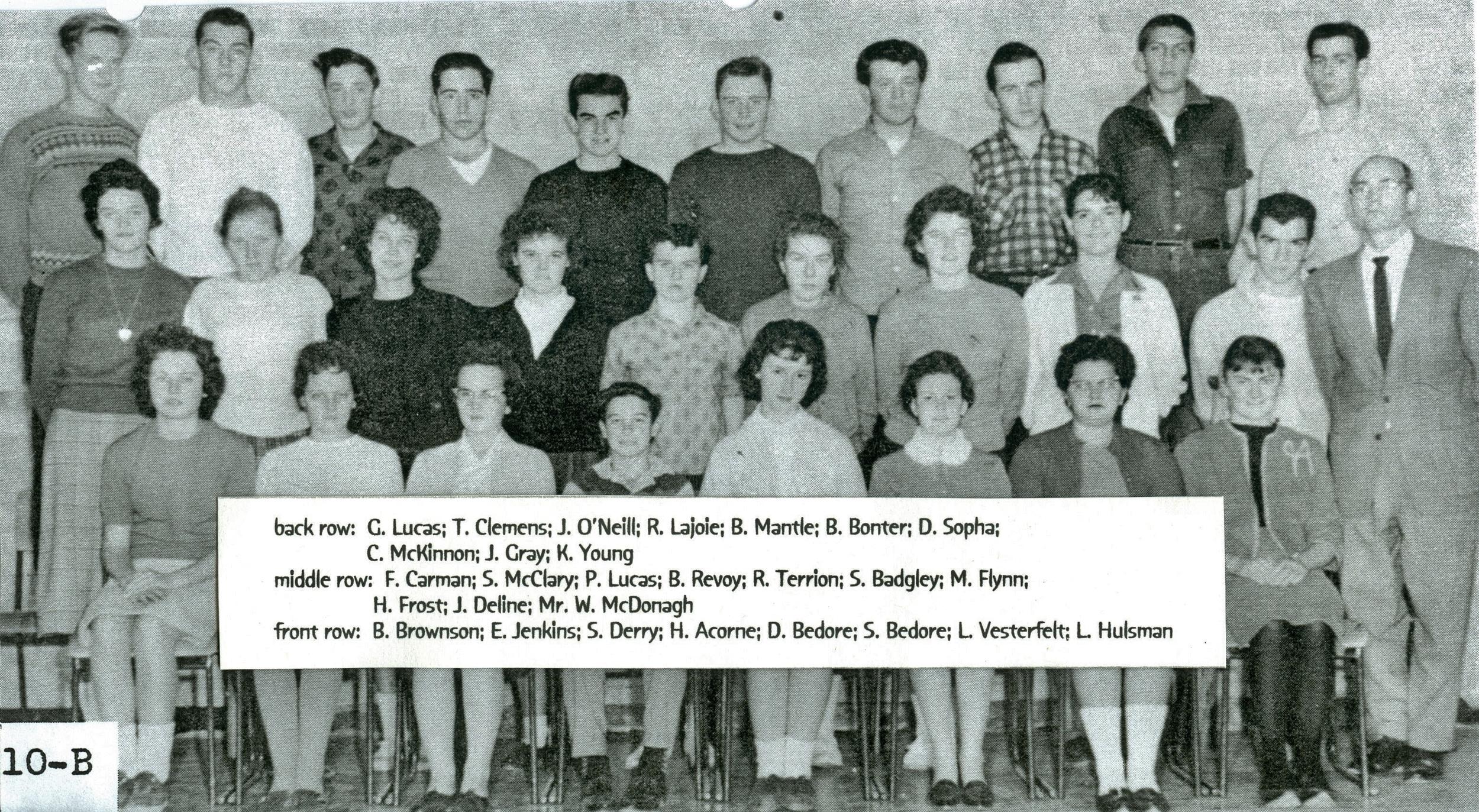 Marmora High School  Grade 10.jpg