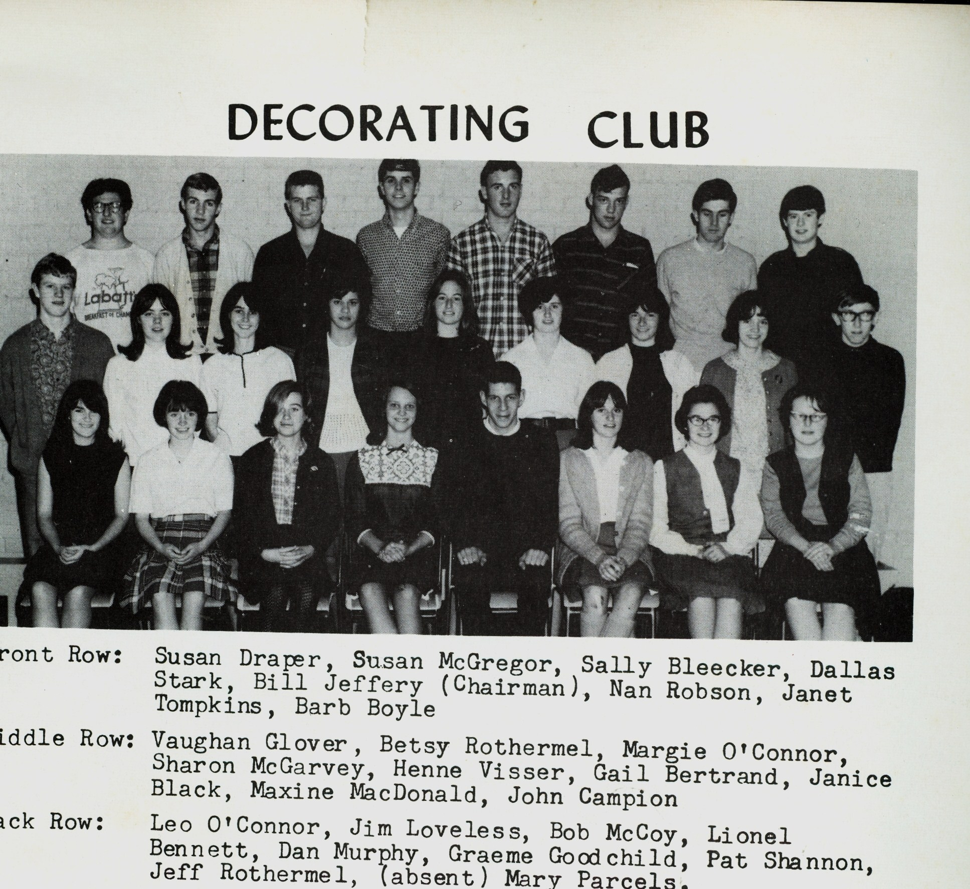 Marmora high School,  Decorating Committee.jpg
