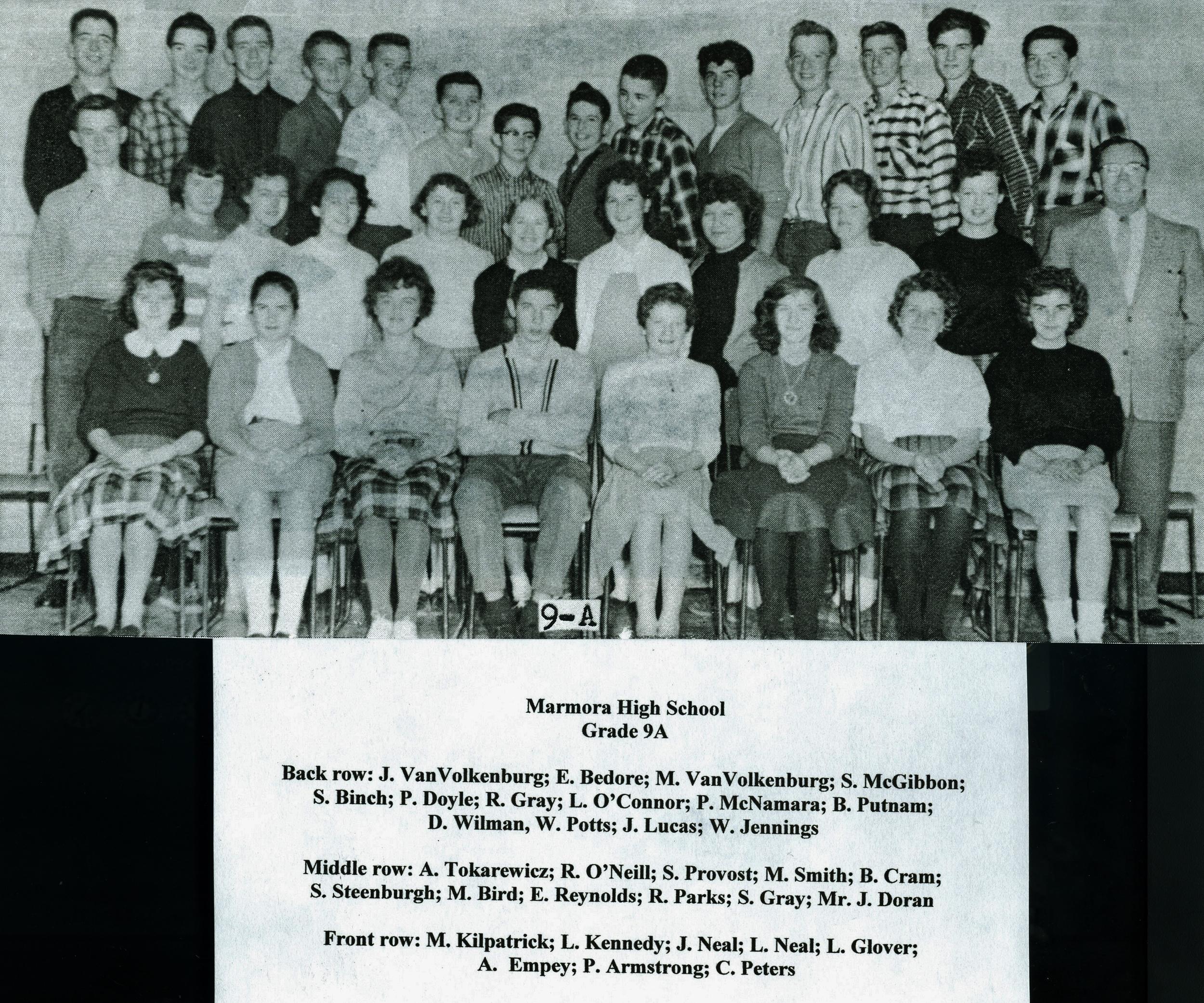 Marmora High School,  Gr. 9.jpg