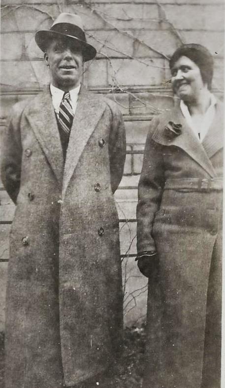 George & Daisy Brooks  1930