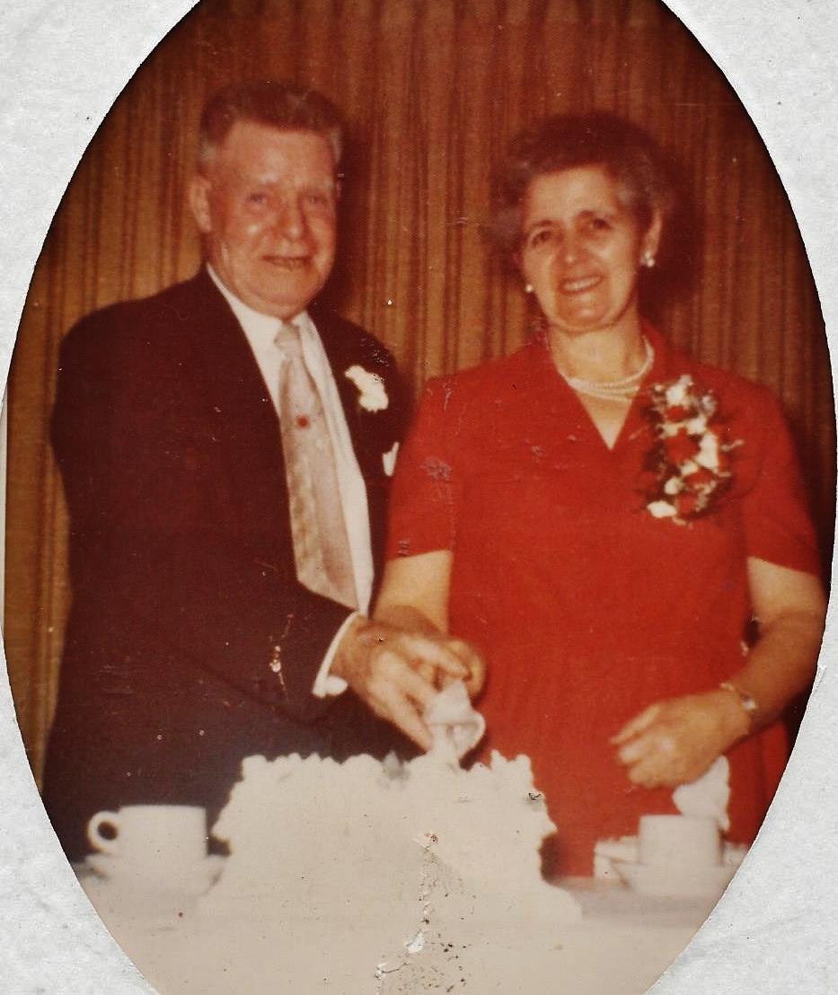 George & Daisy Brooks 42nd Wedding Annivesary