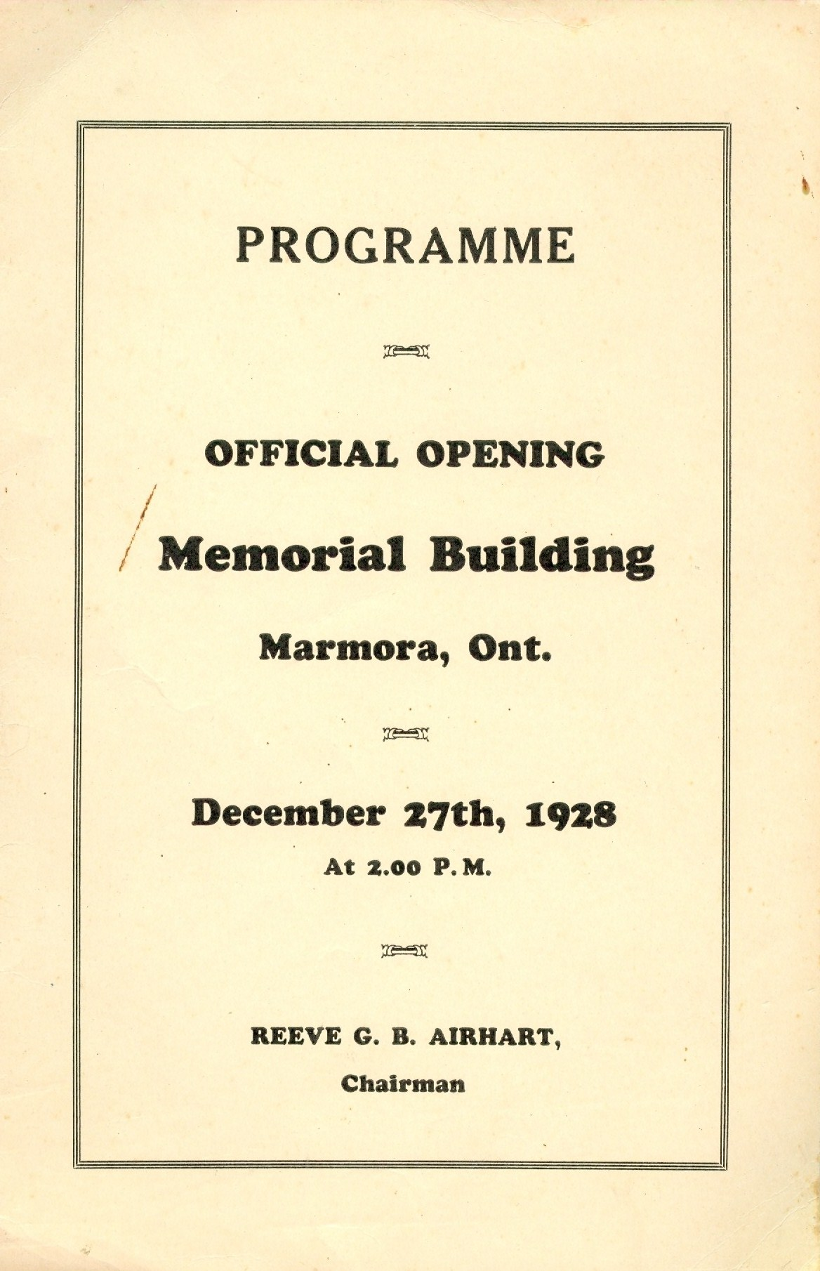 Program opening of Memorial Building 1.jpg