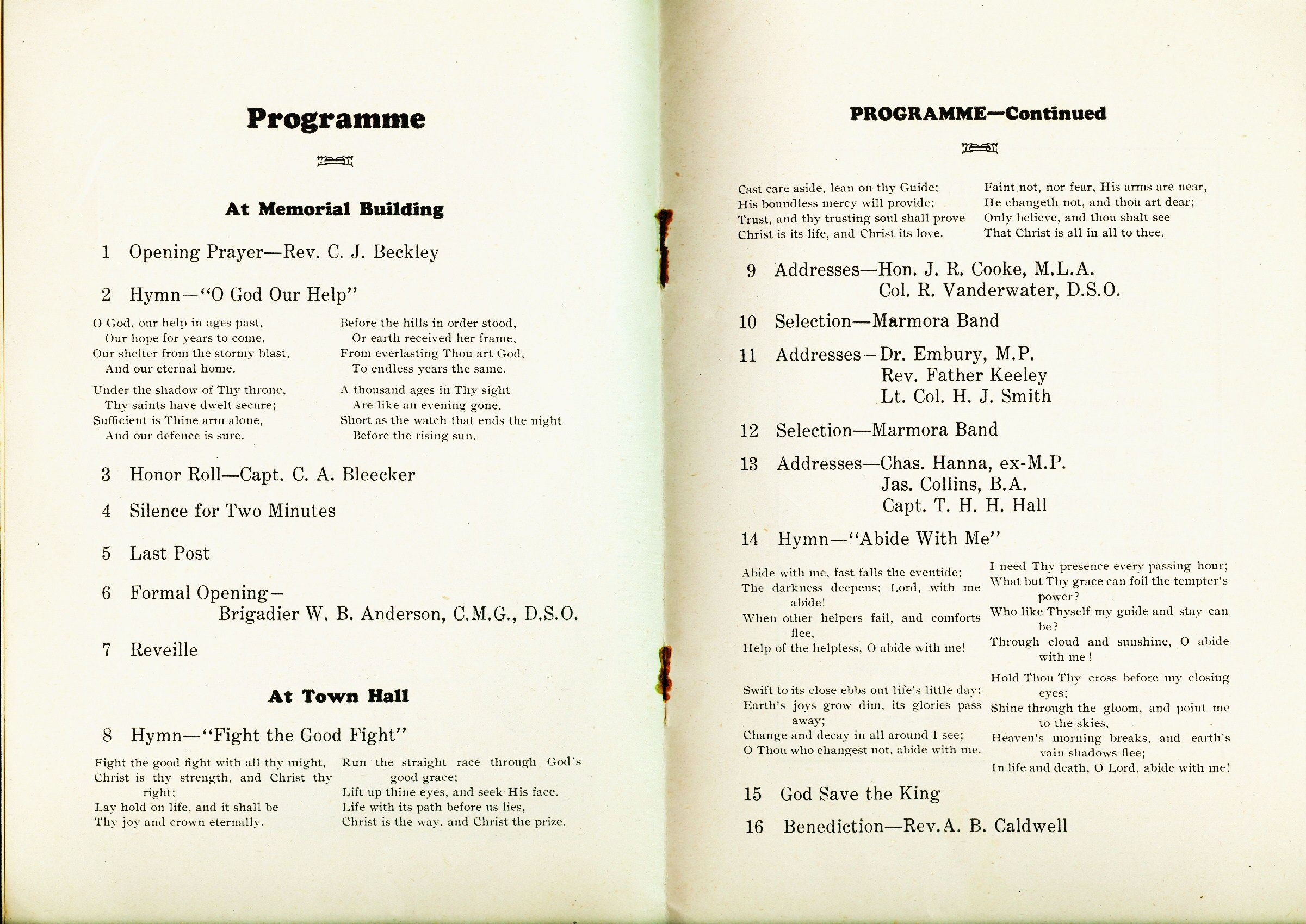 Program opening of Memorial building 2.jpg