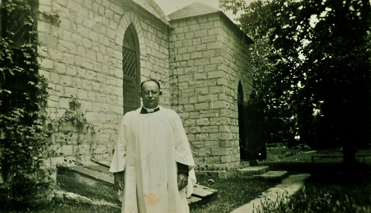 Rev. Arthur B. Caldwell, inducted into the marmora parish on Jan 13, 1927