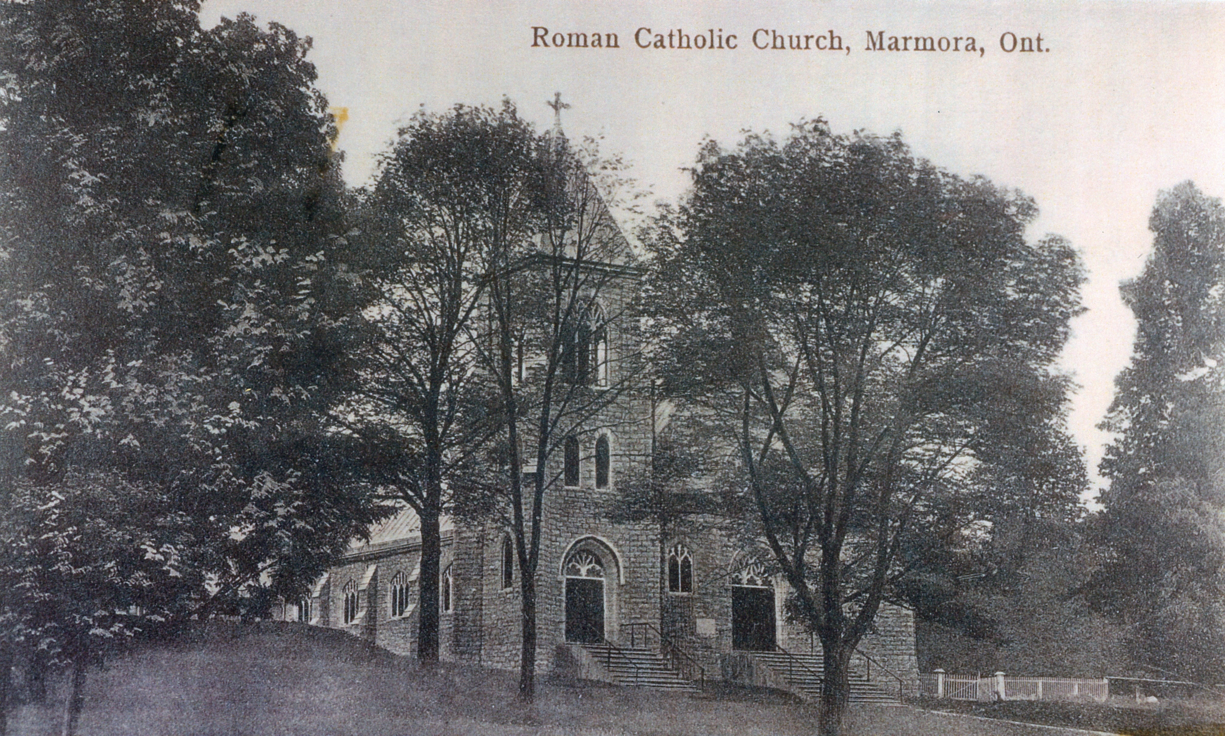 1909 before the school was built