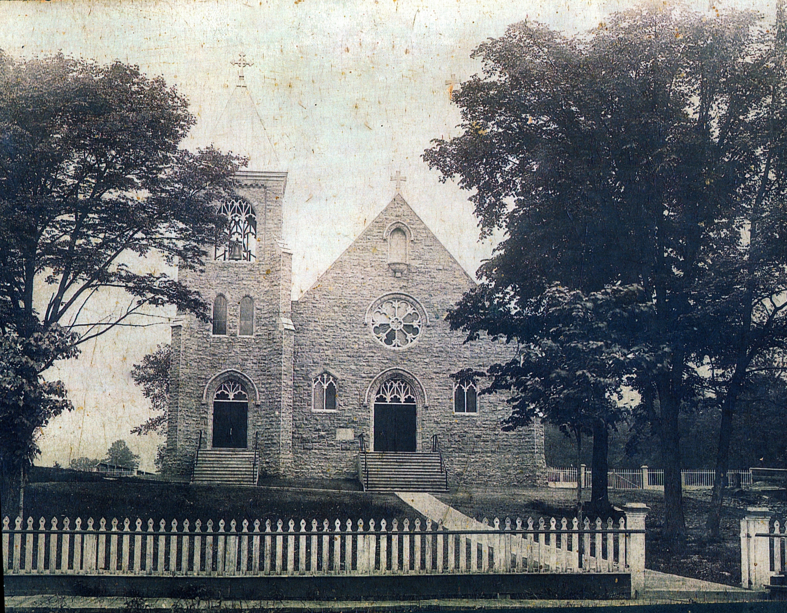 1912 before the school was built
