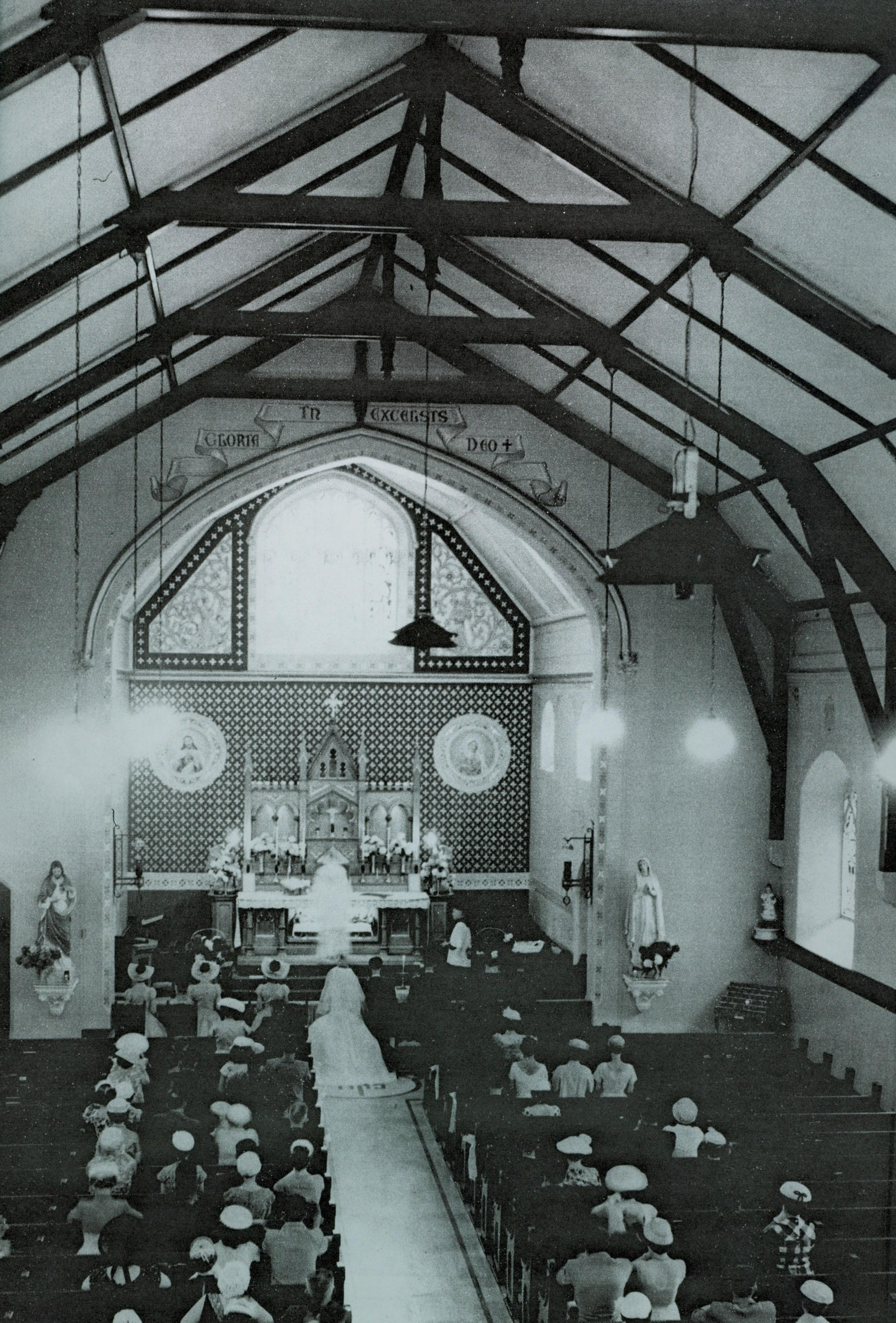 Wedding at Sacred Heart