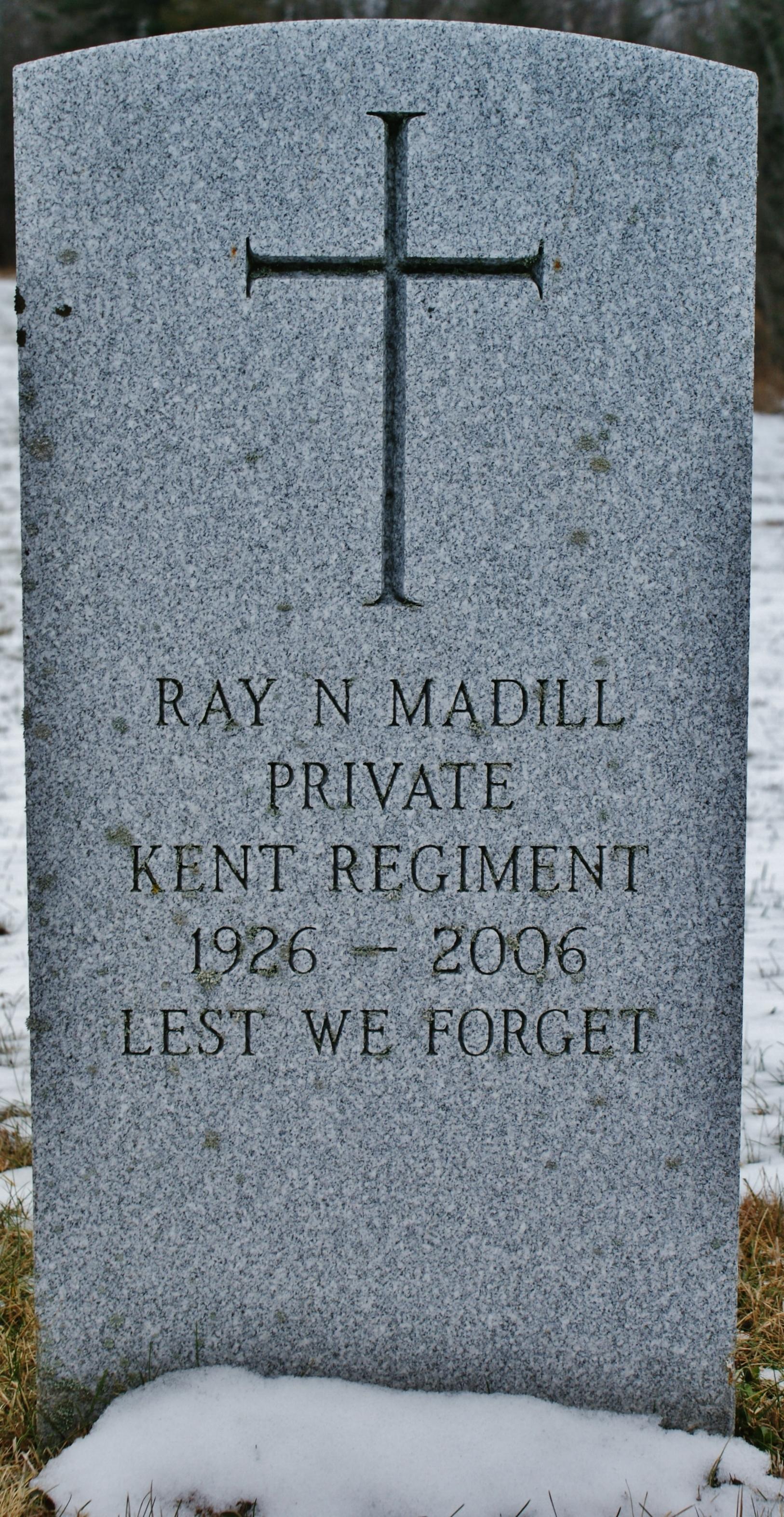 Ray N. Madill